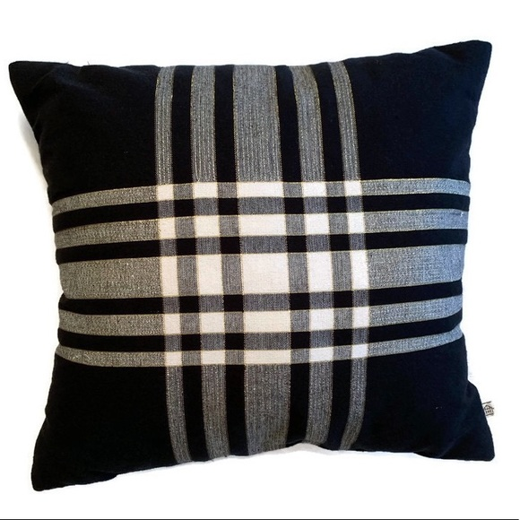 Hearth & Hand Other - Hearth and Home Pillow Black and Plaid